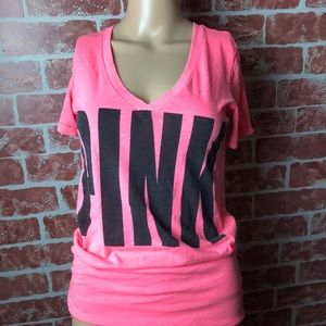Pink Victoria Secret Tee Shirt Great Condition